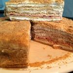 Торт Медовик на сметанном креме