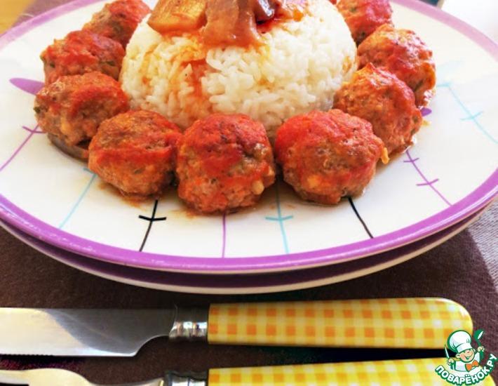 Рецепт: Тефтели с томатным соусом