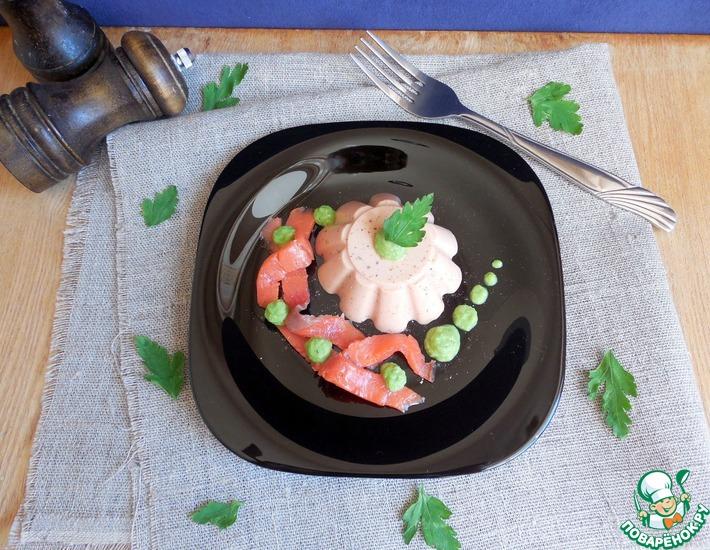 Рецепт: Томатно-йогуртовая панна-котта