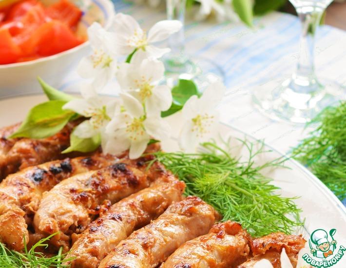 Рецепт: Шейки куриные гриль