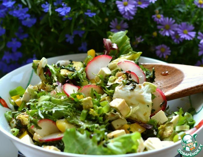 Рецепт: Салат с авокадо и фетой