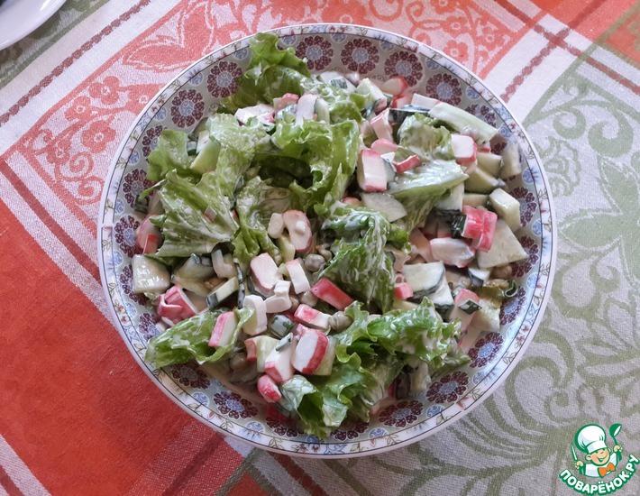 Рецепт: Просто салат