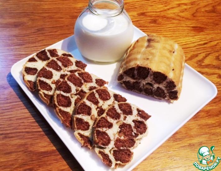 Рецепт: Леопардовый хлеб