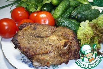 Рецепт: Баранина, запеченная на гриле для пикника