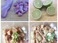 Рисовый салат с курицей ингредиенты