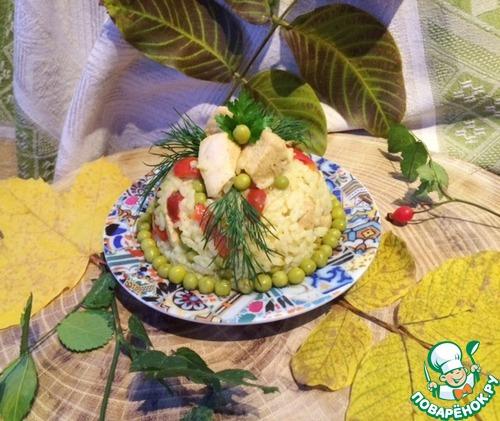 Рецепт Рисовый салат с курицей