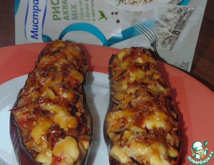 Рецепт: Фаршированные баклажаны Акватика
