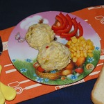 Детские тефтели с кабачком