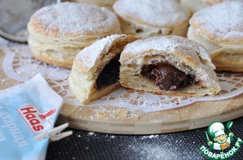 Рецепт Питивье с шоколадом