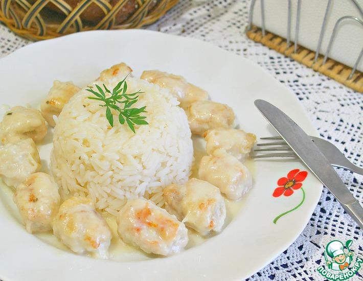 рулет из курицы с рисом детский рецепт
