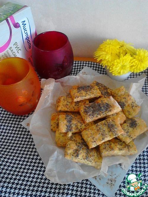 Рецепт Рисово-сырное печенье