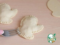 Пирожки-рукавички с курицей и рисом ингредиенты