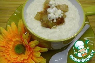 Рецепт: Десертный рис с грушево-кокосовым ароматом