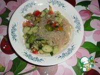 Рецепт Салат из фунчозы как на рынке