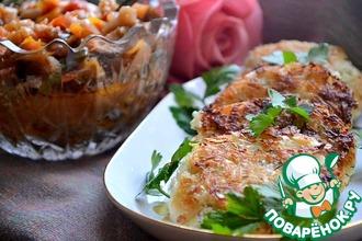 Рецепт: Капустно-рисовые котлеты