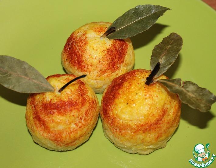 Рецепт: Гарнир Спелые яблочки