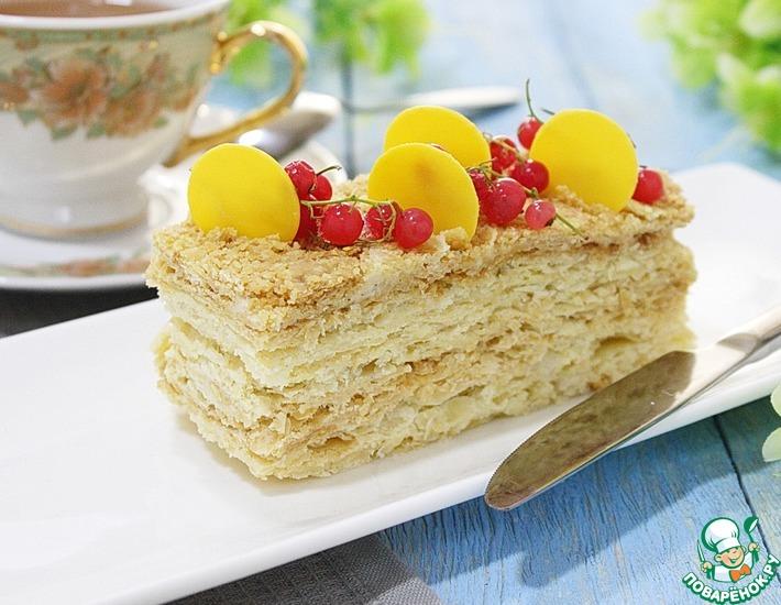 Рецепт: Идеальный торт Наполеон