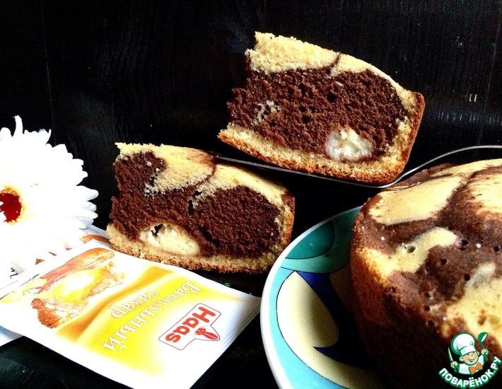 Рецепт: Леопардовый пирог Любить по-русски