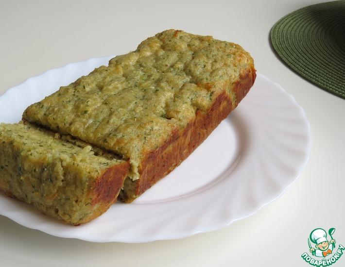 Рецепт: Кукурузный хлеб с сыром и зеленью