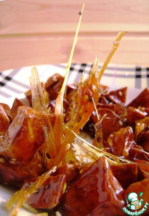 Рецепт Батат в карамели