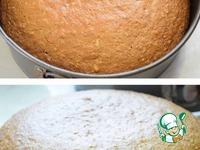 """Орехово-кофейный пирог """"Чёрное и белое"""" ингредиенты"""