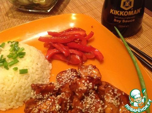 Рецепт Карамельная курица по-тайски