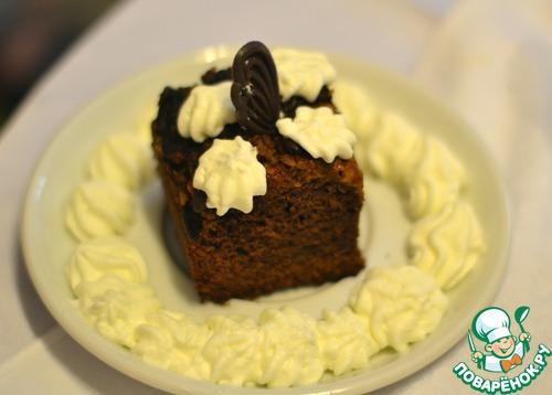 """Рецепт Пирожное """"brownies"""" с тыквой"""