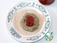 Гречневые биточки с вялеными помидорами ингредиенты