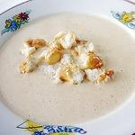 Луково-сырный суп-пюре