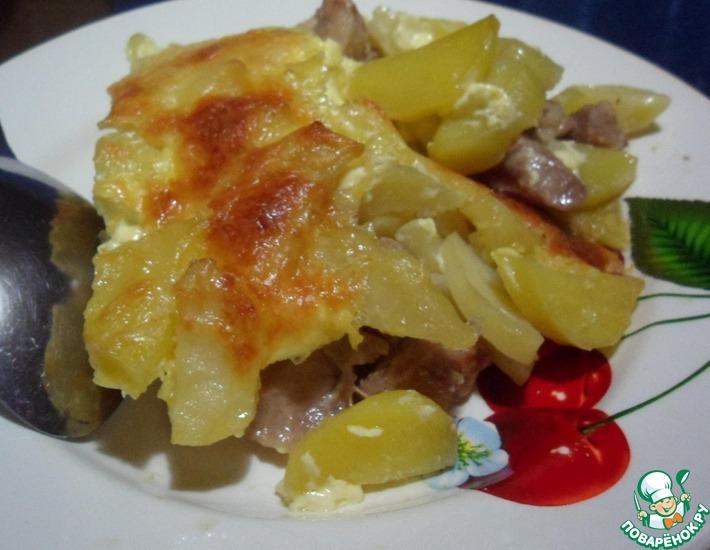 Рецепт: Картофель по-французски