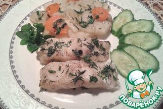Рецепт: Рыба по-деревенски