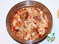 Курица в томатно-апельсиновом соусе с рисом ингредиенты