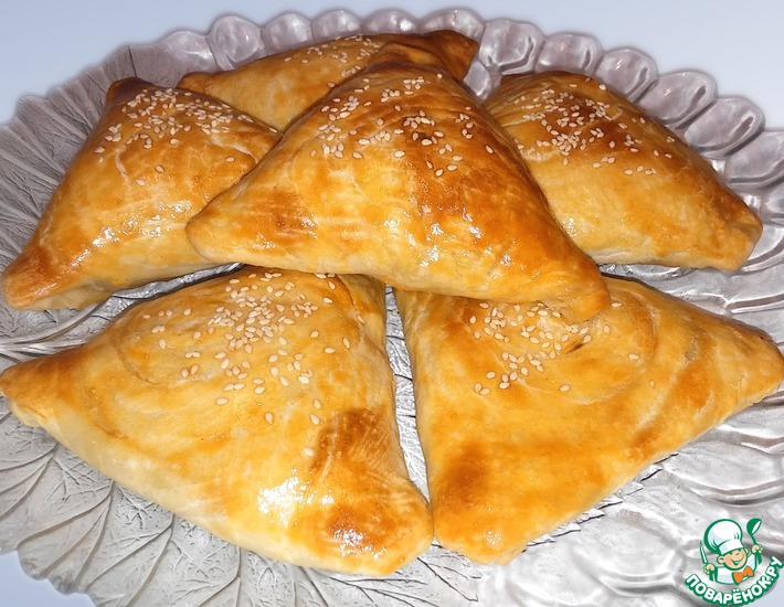 Рецепт: Самса с тыквой по-узбекски