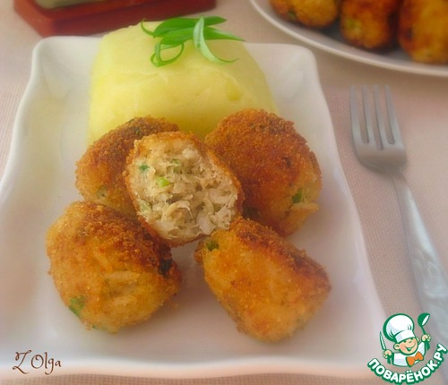 Рецепт Рисово-рыбные шарики