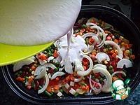 Овощи в сметанно-сырном соусе ингредиенты