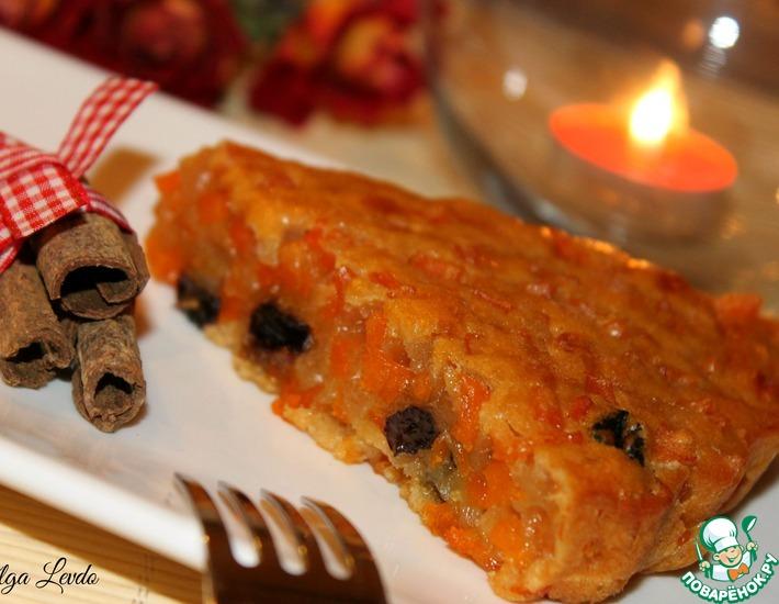 Рецепт: Желейный пирог из тыквы Шахерезада