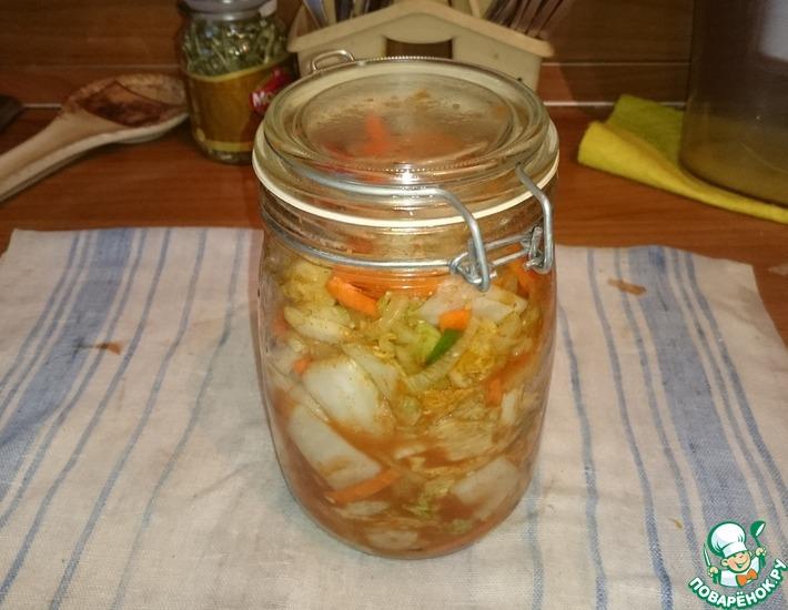 Рецепт: Кимчи