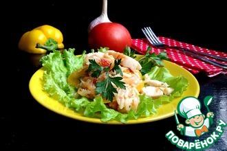 Рецепт: Рыба в соусе с рисом Дежурная
