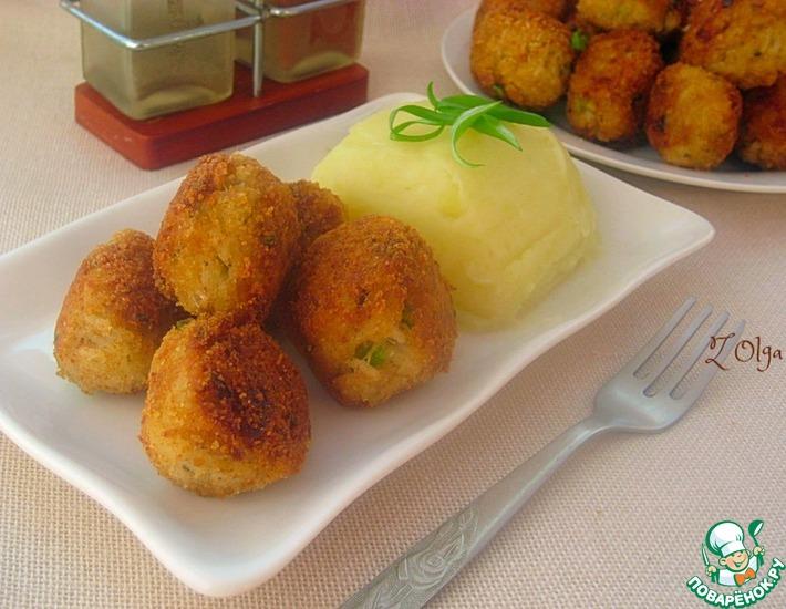 Рецепт: Рисово-рыбные шарики