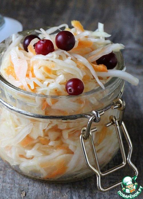 Рецепт Капуста маринованная с горчицей