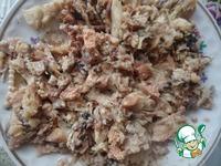 Картофельно-рисовые бруски с консервами ингредиенты
