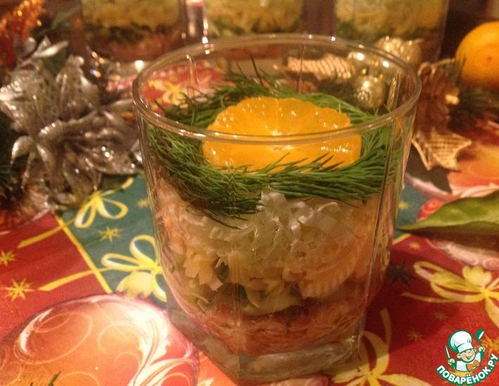 Рецепт: Салат Романтика
