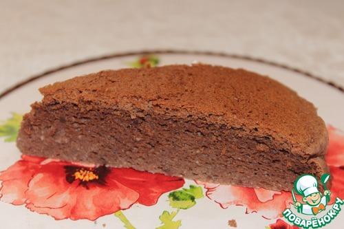 Рецепт Шоколадный японский чизкейк
