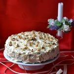 Тыквенно-ореховый торт