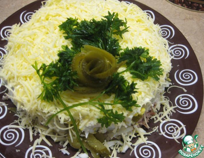 Рецепт: Салат Дипломатический