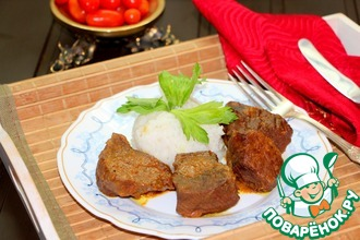 Рецепт: Ароматная тушеная говядина с острова Бали