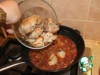 """Цыплёнок в соусе """"Чилиндрон"""" ингредиенты"""