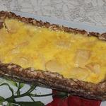 Яблочный пирог с хлопьями и маком