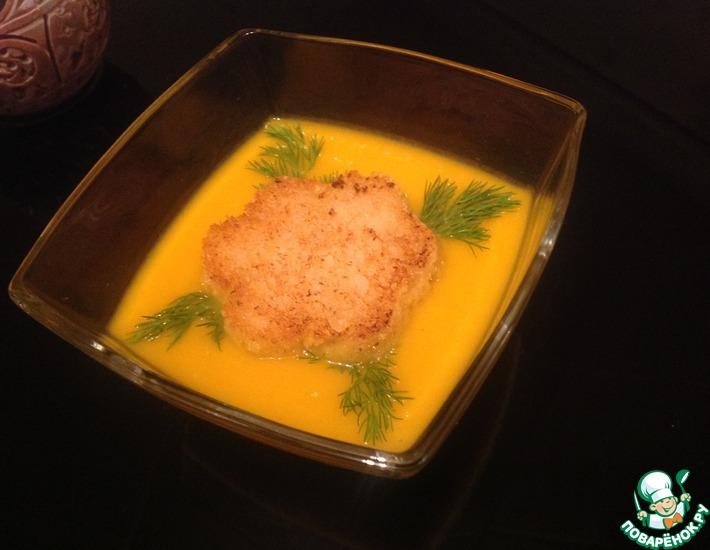 Рецепт: Морковный суп-пюре с яблоками
