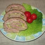 Мясной рулет с савойской капустой